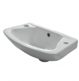 Space Saving Small Basin 360mm x 262mm 2 TH - 05005590